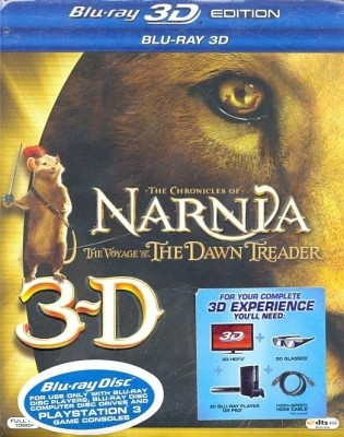 The Chronicles Of Narnia: The Voyage Of The Dawn Treader 3D(3D Blu-ray English)