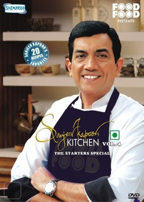 Sanjeev Kapoor's Kitchen Volume 4: The Starters Special