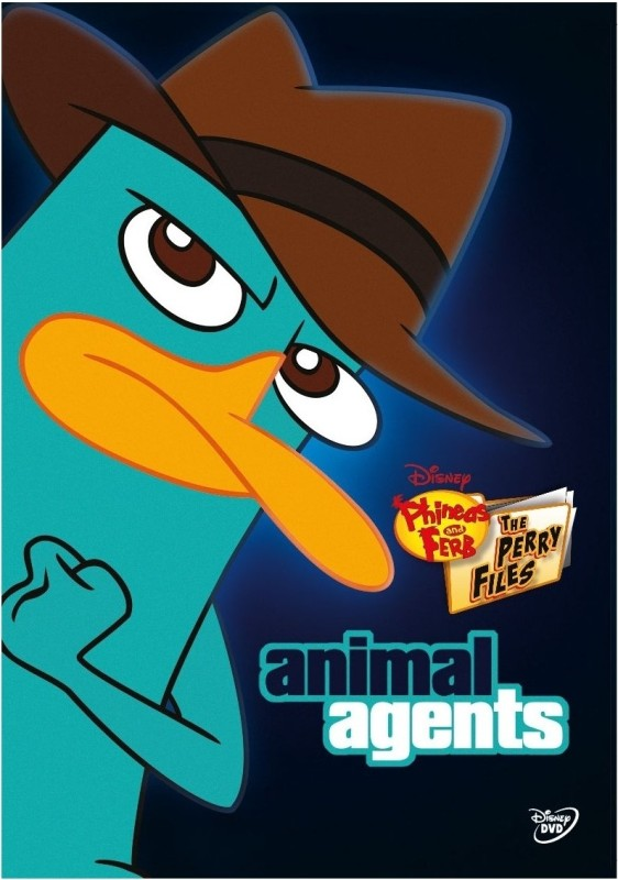 Phineas and Ferb: The Perry Files - Animal Agents Complete(DVD English)