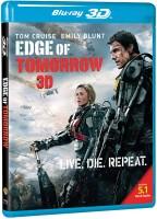 Edge Of Tomorrow(3D Blu-ray English)