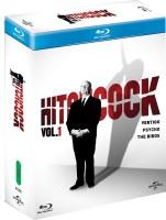 Hitchcock Vol. 1 - Vertigo / The Birds / Psycho(Blu-ray English)