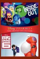 Inside Out & Big Hero 6 - DVD(DVD English)