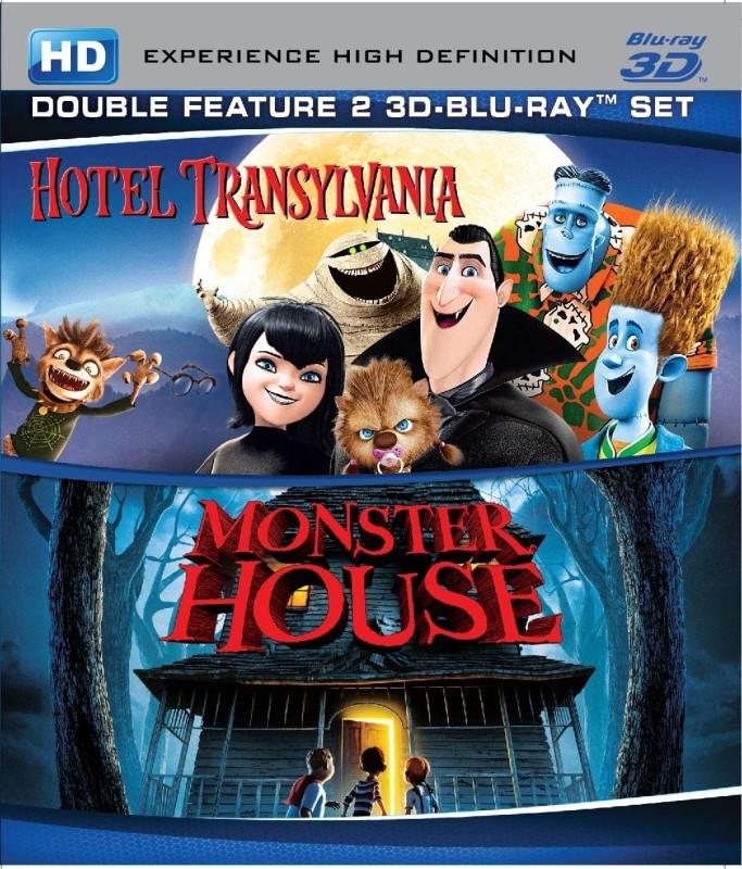 Hotel Transylvania / Monster House(3D Blu-ray English)