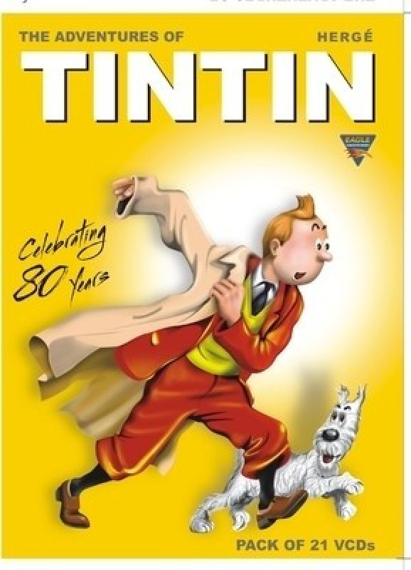 The Adventures Of Tintin-Complete Set Complete(VCD English)