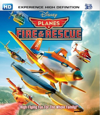 Planes: Fire & Rescue(3D Blu-ray English)