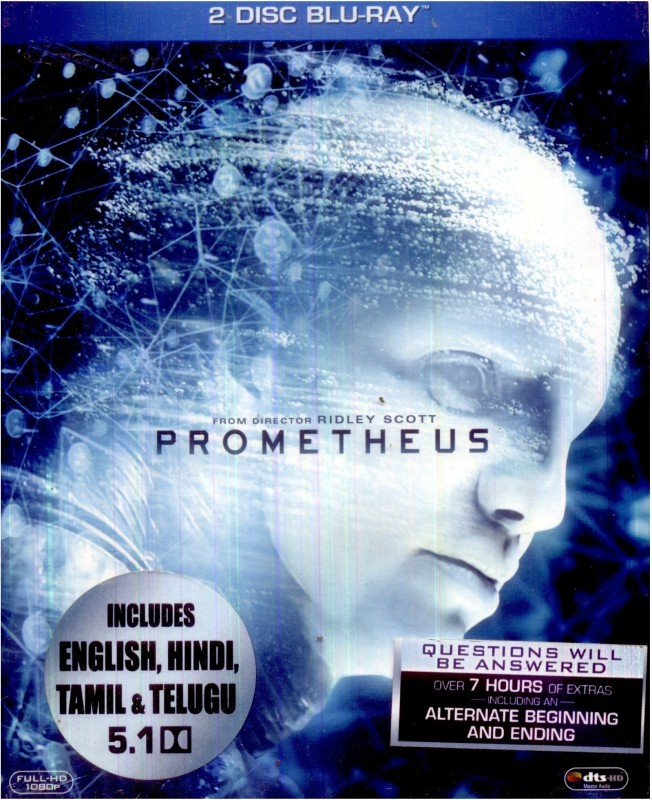 Prometheus (Bluray + DVD)(Blu-ray English)