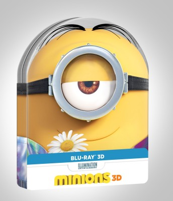 Minions 3D (Metal Collectors, Edition)(3D Blu-ray English)