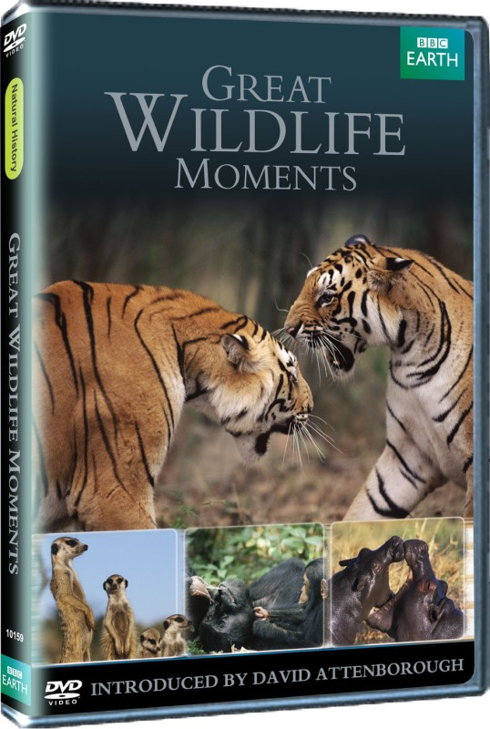 Great Wildlife Moments Complete(DVD English)