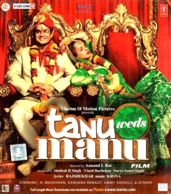 Tanu Weds Manu(Blu-ray Hindi)