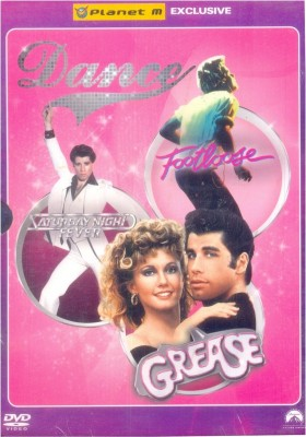 Musicals 3 DVD Pack (Saturday Night Fever, Grease, Footloose)