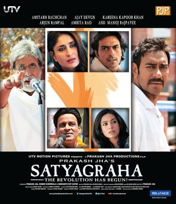 Satyagraha - The Revolution Has Begun!(Blu-ray Hindi)