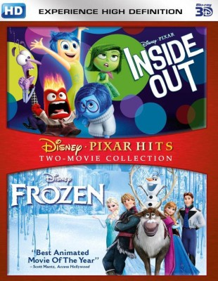 Inside Out & Frozen - 3D BD