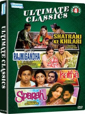 Ultimate Classics - 4 DVD Movie Value Pack (Shatranj Ke Khiladi / Rajnigandha / Katha / Sparsh)