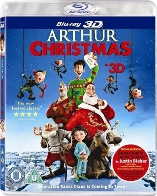 Arthur Christmas 3D(3D Blu-ray English)