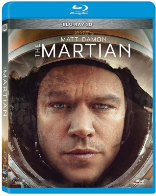 The Martian 3D Bluray