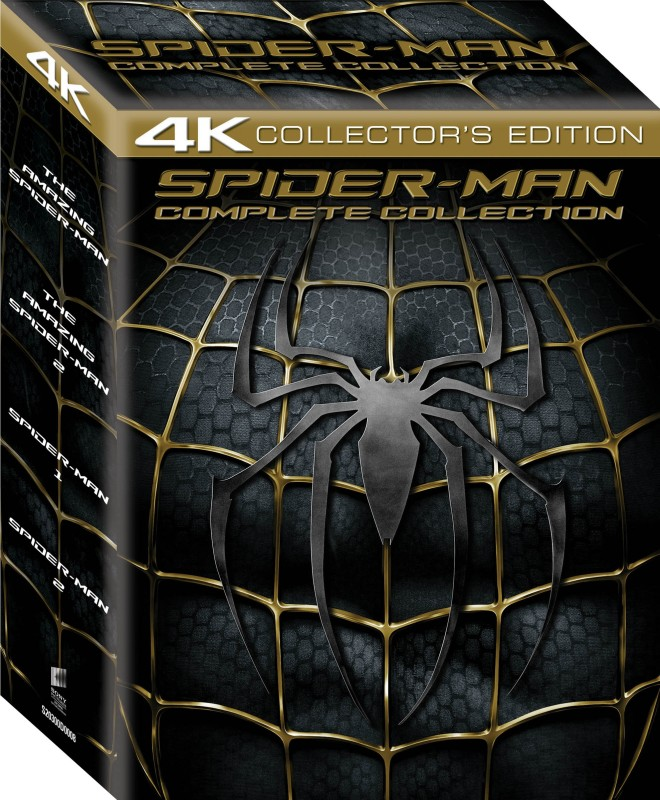 4K : Spider - Man Complete Collection(Blu-ray English)