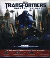 Transformers Dark Of The Moon 3D(3D Blu-ray English)