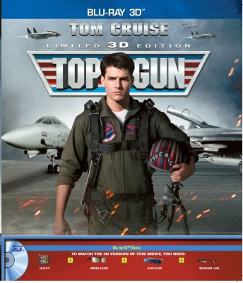 Top Gun In 3D(3D Blu-ray English)
