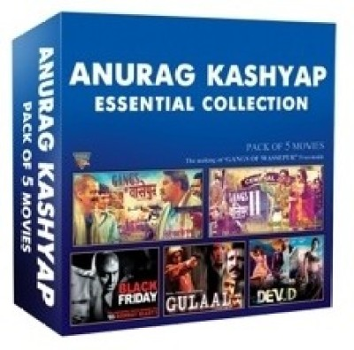 Anurag Kashyap Essential Collection (Set of 5 DVD,s)