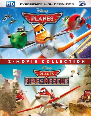 2 - Movie Collection : Planes / Planes : Fire & Rescue