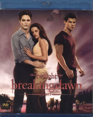 The Twilight Saga Breaking Dawn - 1(Blu-ray English)