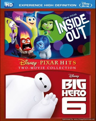 Inside Out & Big Hero 6 - BD