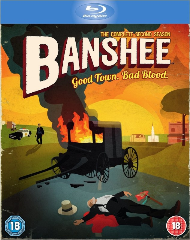 Banshee - 2 2 (The Complete Second Season)(Blu-ray English)