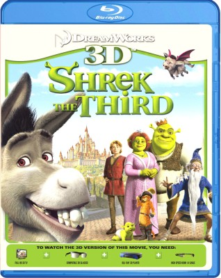 Shrek The Third - 3D