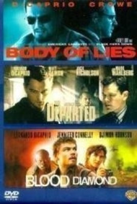 Leonardo Di Caprio Box Set - Body Of Lies/Departed/Blood Diamond