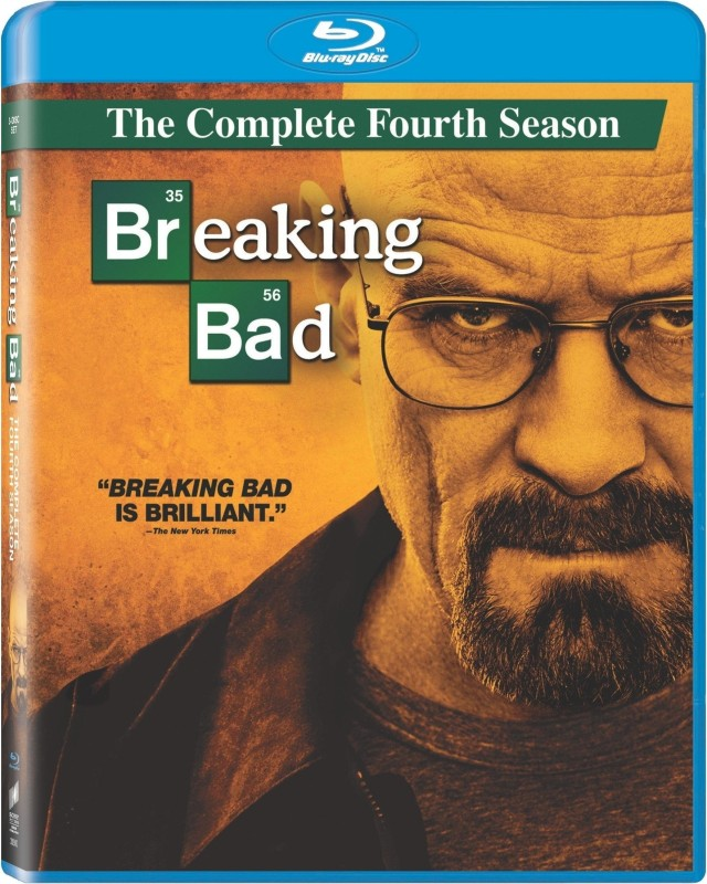 Breaking Bad Season - 4 4(Blu-ray English)