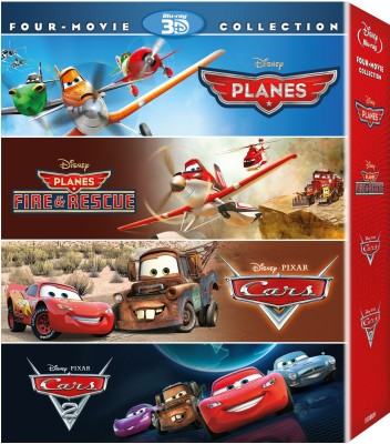 Planes / Planes : Fire & Rescue / Cars / Cars 2