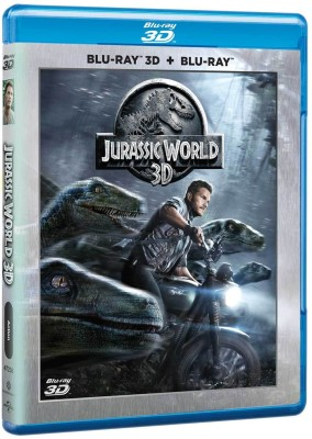 Jurassic World (3D + 2D) 2 Disc Edition(3D Blu-ray English)