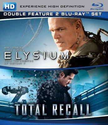 Elysium / Total Recall(Blu-ray English)
