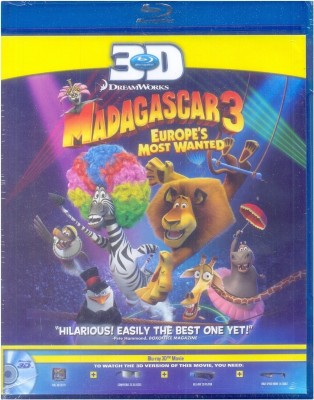 Madagascar 3: Europe,S Most Wanted 3D