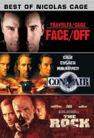 Best Of Nicolas Cage : Face Off / Con Air / The Rock(DVD English)