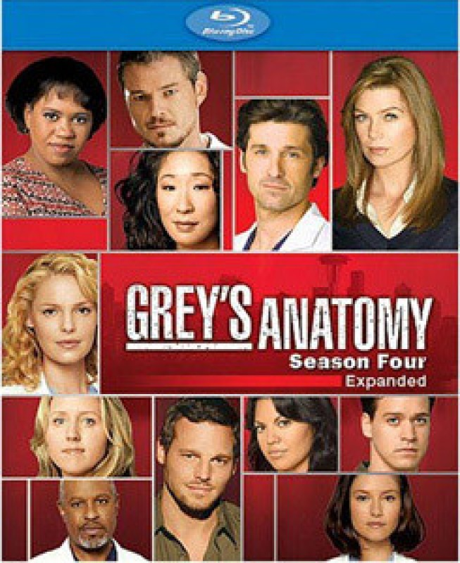 Greys Anatomy Complete(Blu-ray English)