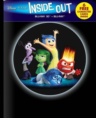 Inside Out - 3D BD Steelbook
