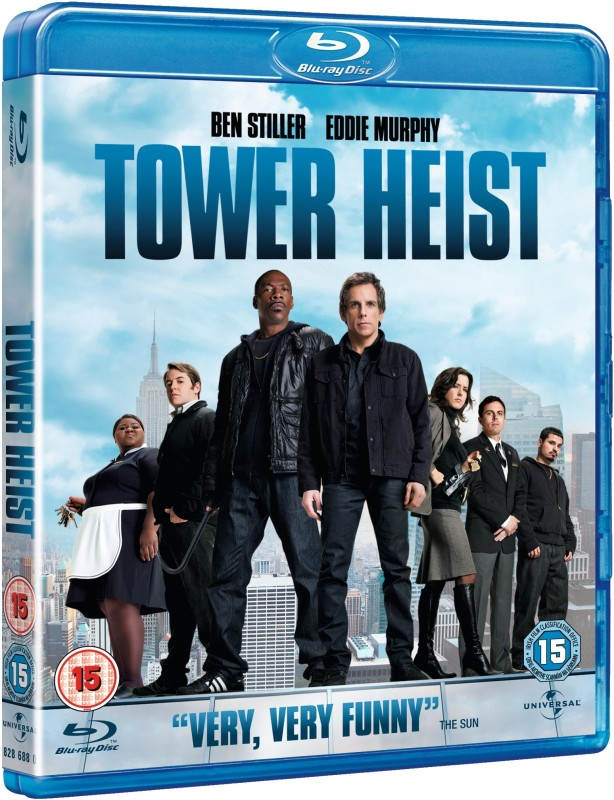 Tower Heist(Blu-ray English)