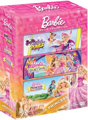 Barbie In Princess Power / Barbie And The Secret Door / Barbie Princess Charm School