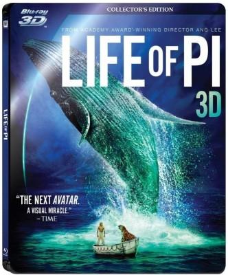 Life Of PI - 3D Blu-Ray + DVD(3D Blu-ray English)