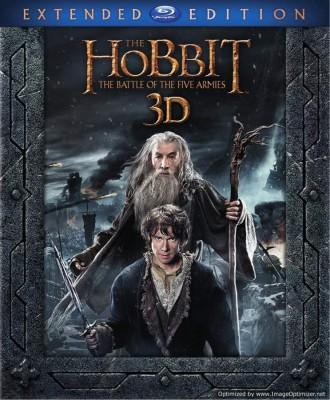 The Hobbit: The Battle Of Five Armies Extended Edition 3D BD(3D Blu-ray English)