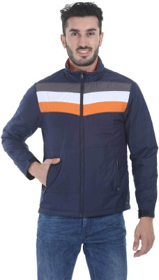 Zobello Full Sleeve Striped Men's Jacket