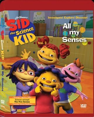 Sid The Science Kid - All My Senses Vol. 3