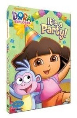 Dora - It's A Party! (Free Dora Magnet With DVD) Complete