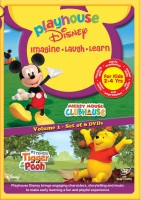 Mickey Mouse Club House Volume 1 / My Friends Tigger Pooh(DVD English)