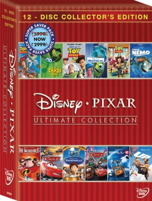 Disney Pixar: Ultimate Collection 12 Movies