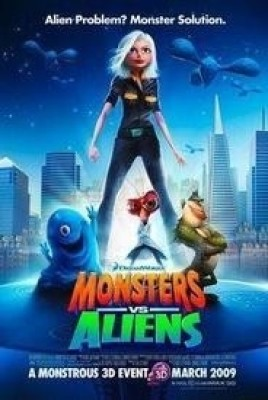 Monsters Vs Aliens(VCD English)