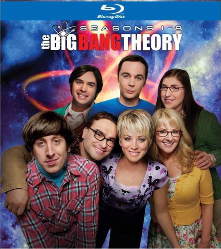 The Big Bang Theory : 1 - 8 42217(Blu-ray English)