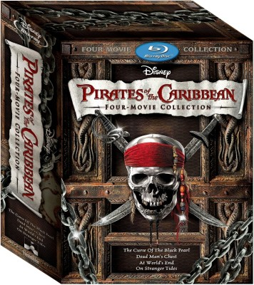 Pirates Of The Caribbean : Four Movie Collection