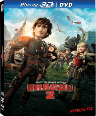 How To Train Your Dragon 2(3D Blu-ray English)